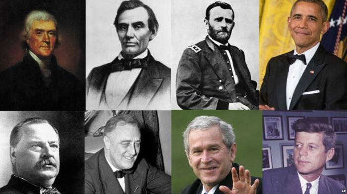 Các cựu Tổng thống Mỹ.