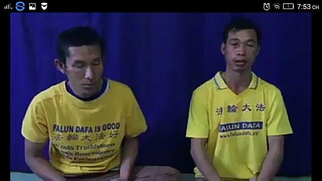 Anh Lê Quang Trung và anh Nguyễn Tăng Lượng lên tiếng cho vụ hành hung vô cớ (Ảnh: Facebook Tuongquan Tran)