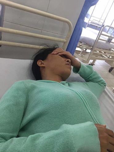Cô giáo Nguyễn Thanh Loan bị đánh nhập viện