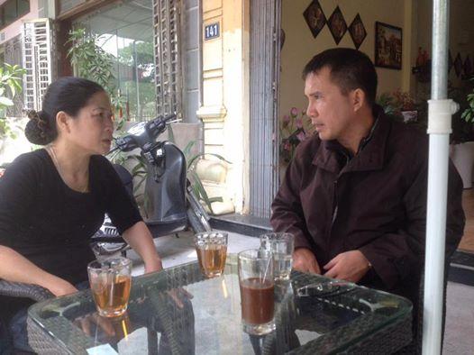 Anh Phạm Văn Trội và phu nhân ông Trần Anh Kim