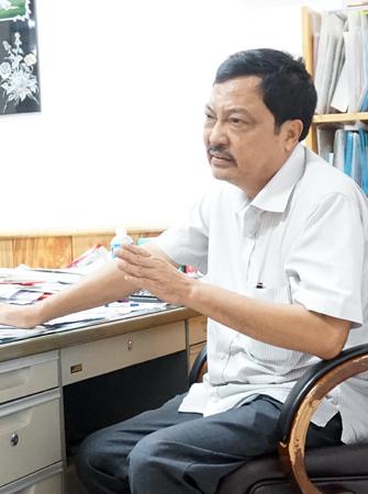 Ông Lê Ðức Thành – Giám đốc Công ty Thành Bưởi.