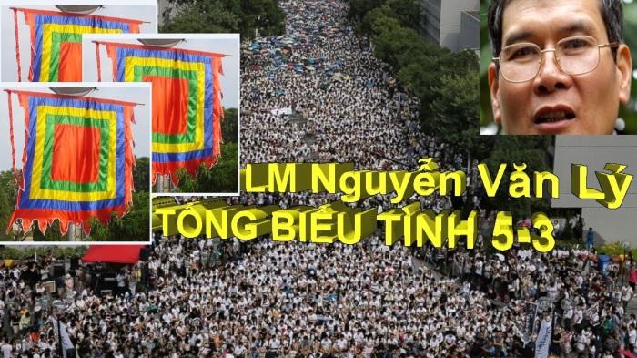 Linh mục Nguyễn Văn Lý xác nhận địa điểm tổng biểu tình 05 tháng 03