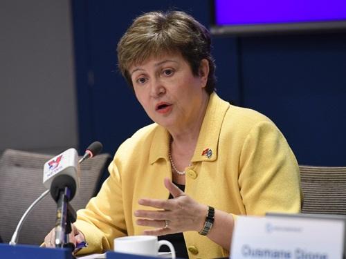 Tổng giám đốc điều hành Ngân hàng Thế giới (WB) - bà Kristalina Georgieva. Ảnh: AFP