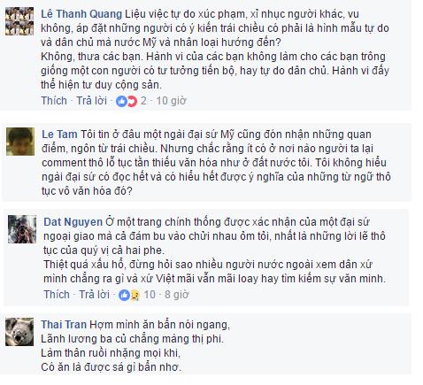 """Người Việt cũng cảm thấy """"hổ thẹn"""" vì hành vi đấu tố của những """"vệ binh đỏ"""". Ảnh: FB Đại sứ Mỹ"""