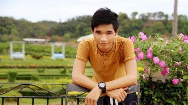 Nguyễn Văn Hóa bị bắt hôm 11/1/2017 vì vi phạm Điều 258