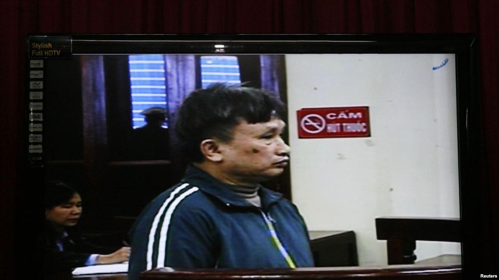 Ông Trần Anh Kim trong một phiên xử trước đây.