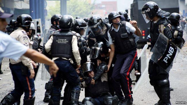 Phe đối lập Venezuela cáo buộc an ninh mạnh tay với người biểu tình.