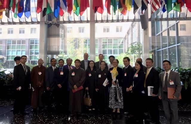 Phái đoàn đa tôn giáo tại Bộ Ngoại Giao Hoa Kỳ, ngày 15/05/2017
