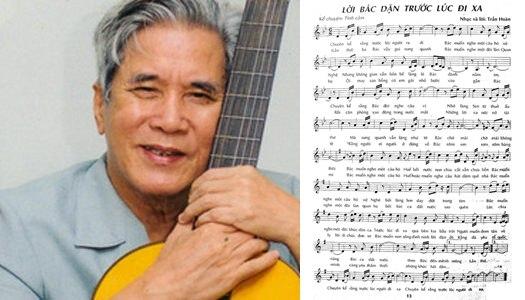 """Nhạc sĩ Trần Hoàn với """"Lời Bác dặn trước lúc đi xa"""""""