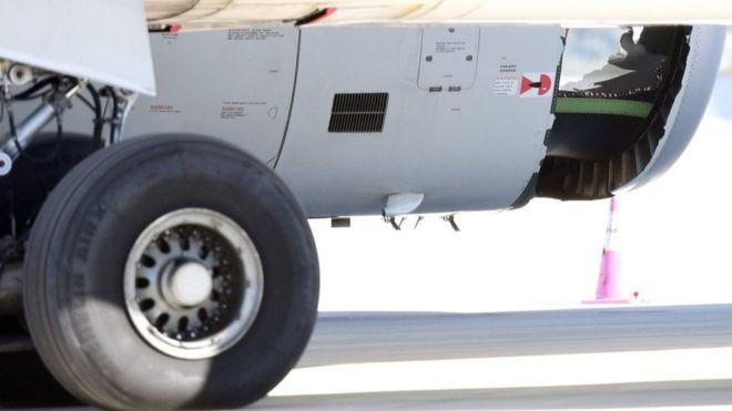 Lỗ thủng vỏ động cơ của Airbus A330 được phát hiện ngay sau khi cất cánh