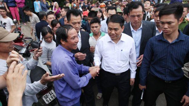 Chính quyền thành phố Hà Nội đã lựa chọn giải pháp đối thoại thay vì sử dụng bạo lực trong vụ việc ở Đồng Tâm cuối tháng 4/2017.