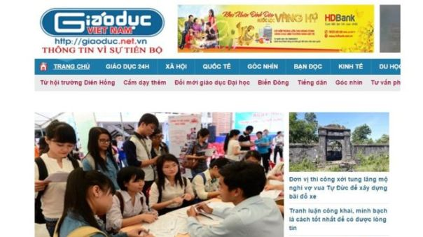 Ông Lê Duy Phong hiện đang giữ chức Trưởng ban Bạn đọc của báo Giáo Dục Việt Nam