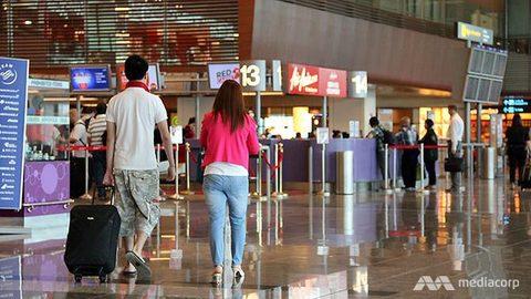 Sân bay Changi - Singapore - Ảnh: Mediacorp