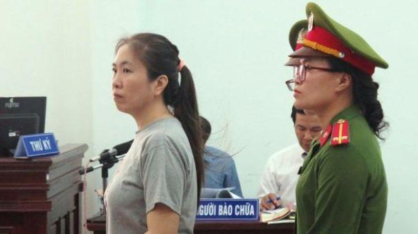 Mẹ Nấm đã bị tuyên án 10 năm tù hôm 29/6
