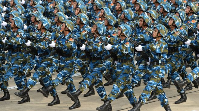 Duyệt binh ở Việt Nam