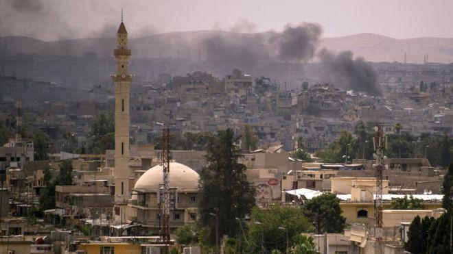 Các lực lượng Iraq đang rất gần một chiến thắng giải phóng toàn bộ thành phố Mosul khỏi tai IS, theo truyền thông nhà nước.