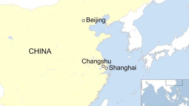 Vụ cháy xảy ra ở một ngôi nhà tại tỉnh Giang Tô, miền Đông Trung Quốc, vào sáng sớm Chủ nhật 16/7/2017 theo giờ địa phương.