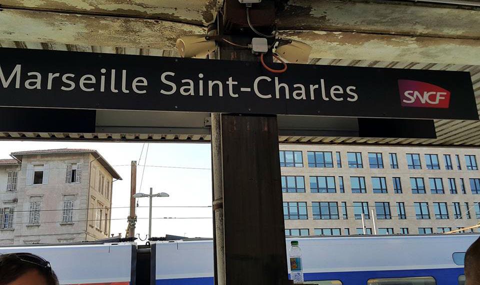 Ga Marseille Saint-Charles. Ảnh: Thẩm Tuyên