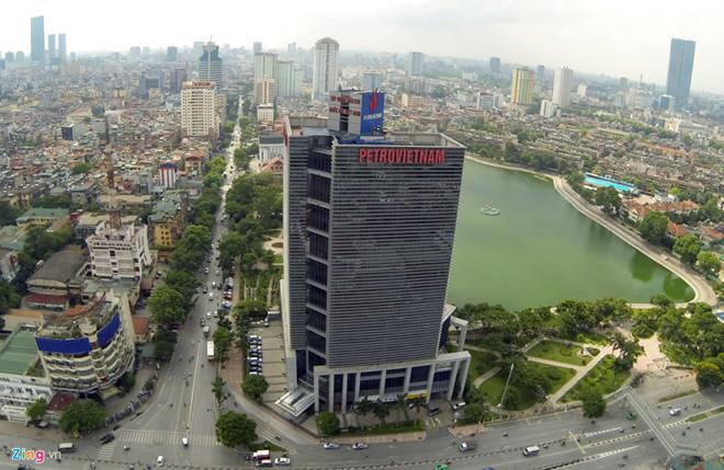 Năm 2016, PVN thu về hơn 30.500 tỷ đồng doanh thu từ hoạt động tài chính nhờ khoản tiền gửi ngân hàng khổng lồ. Ảnh: Lê Hiếu.