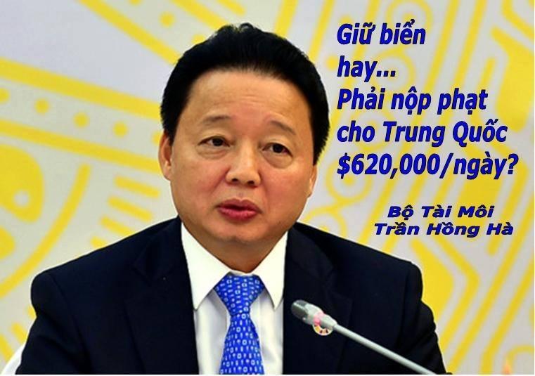Việt Nam sẽ bị phạt 620.000 USD mỗi ngày nếu không cho Nhiệt Điện Vĩnh Tân 1 đổ bùn xuống biển